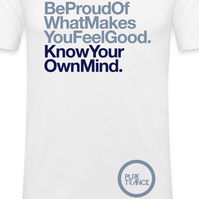 Be Proud. [Male] Metallic / Navy