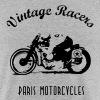 Classic Cafe Racer T-shirt White - Tee shirt près du corps Homme