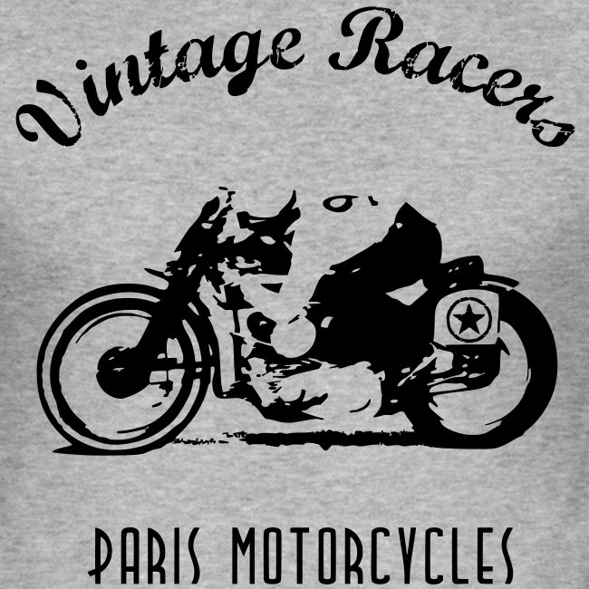 Classic Cafe Racer T-shirt White