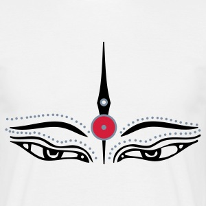 White third eye Men's T-Shirts - Men's T-Shirt