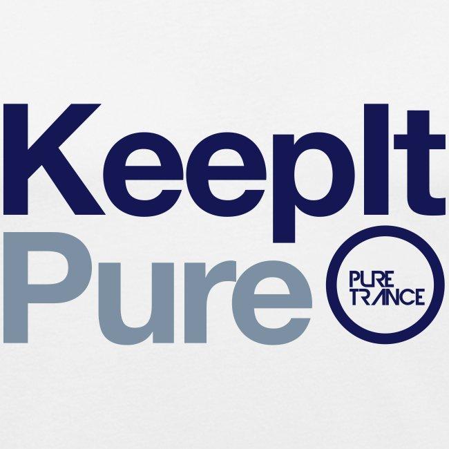 Keep It Pure Navy Blue/Silver Metallic [Male]