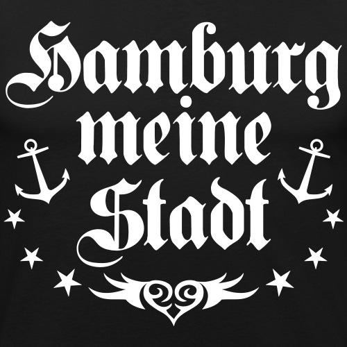 Hamburg meine Stadt Herz Love Anker Tattoo