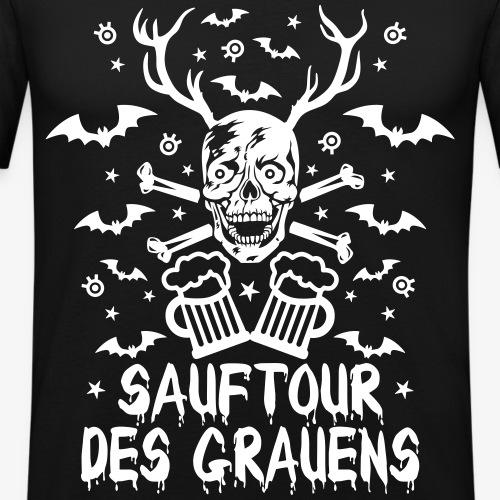 30 Halloween Skull Sauftour des Grauens Bier Beer
