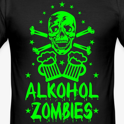 Skull Alkohol Zombies Alcohol Bier Beer Party Crew