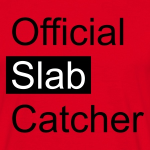 Red Official Slab Catcher Men's T-Shirts - Men's T-Shirt