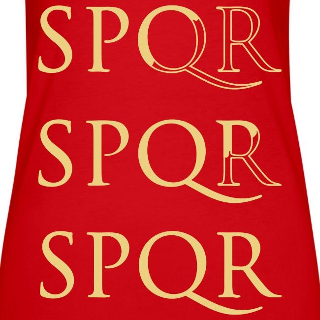 Camiseta Top Spaghetti SPQR