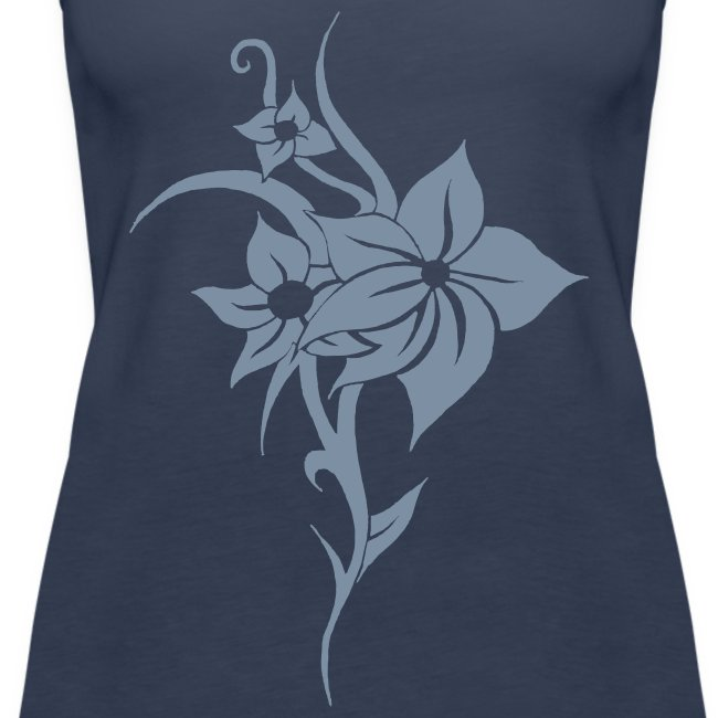 Tribal Flower Tanktop