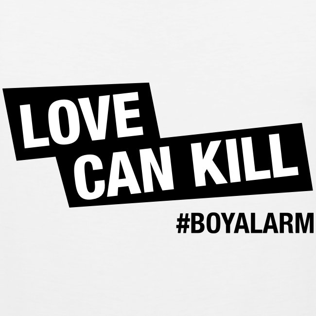 LOVE CAN KILL - Muskelshirt (m)