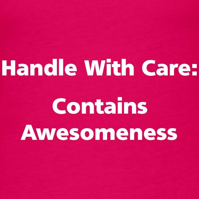SPAGHETTI VEST: Handle with care