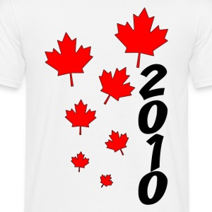 Blanc Canada 2010 T-shirts - T-shirt Homme