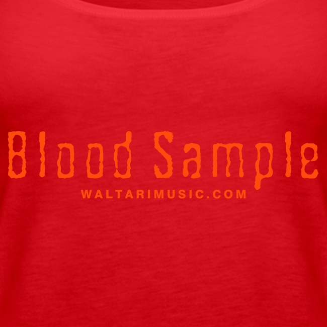 Waltari Blood Sample Girlie Racerback