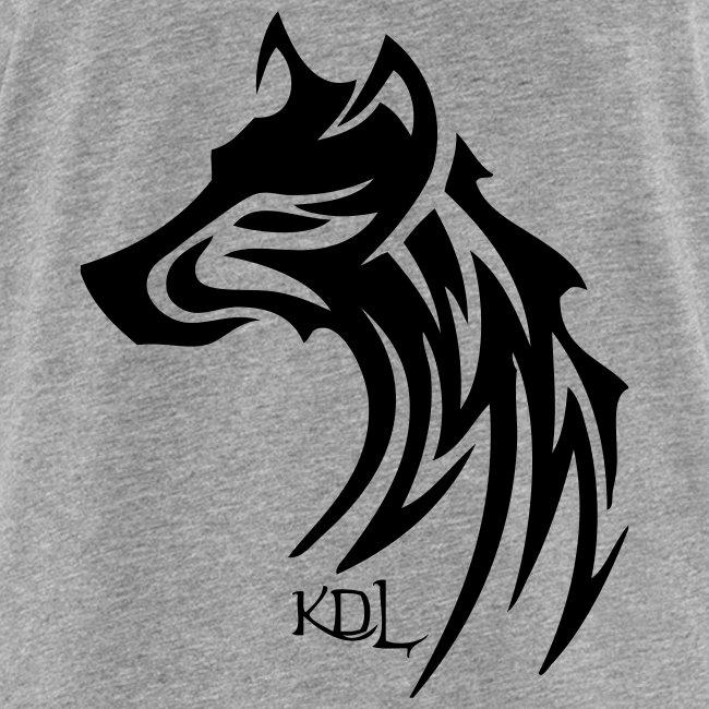 Débardeur homme Loup tribal KDL