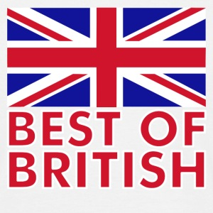 White Best of British Men's T-Shirts - Men's T-Shirt