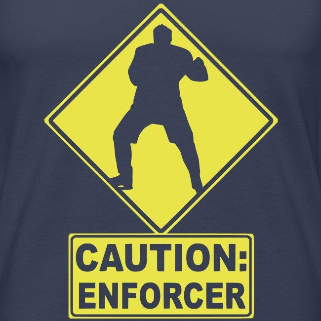 Caution: Enforcer Men's Vest Top