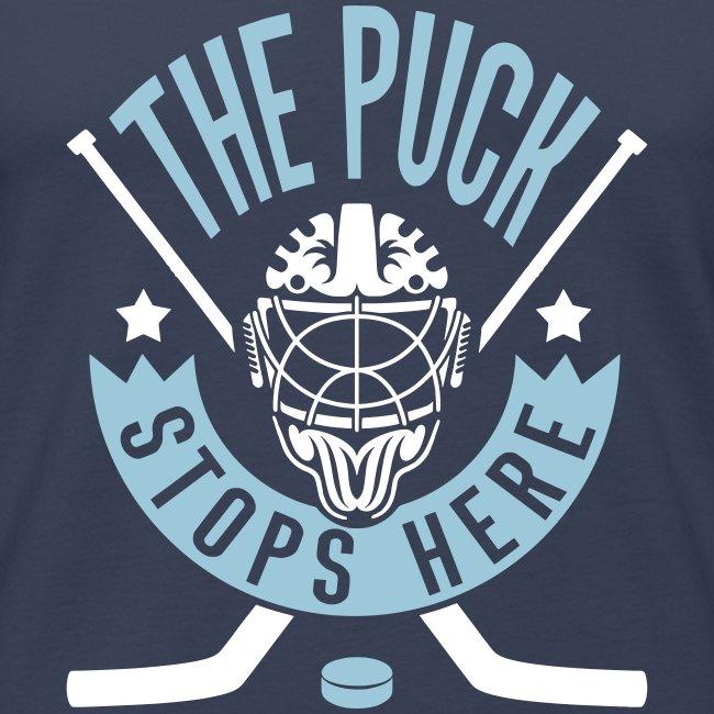 The Puck Stops Here Men's Vest Top