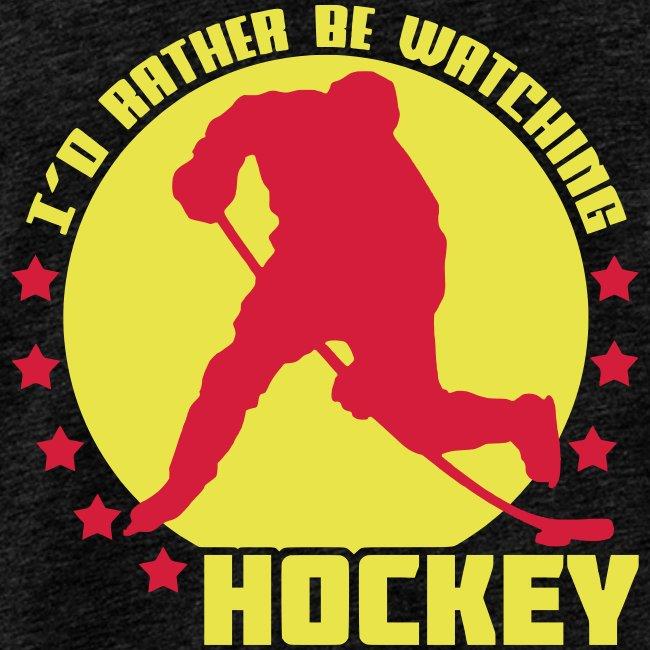 I'd Rather Be Watching Hockey Men's Vest Top