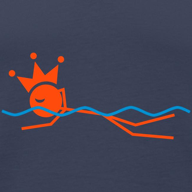 Zwemkoning premium tanktop