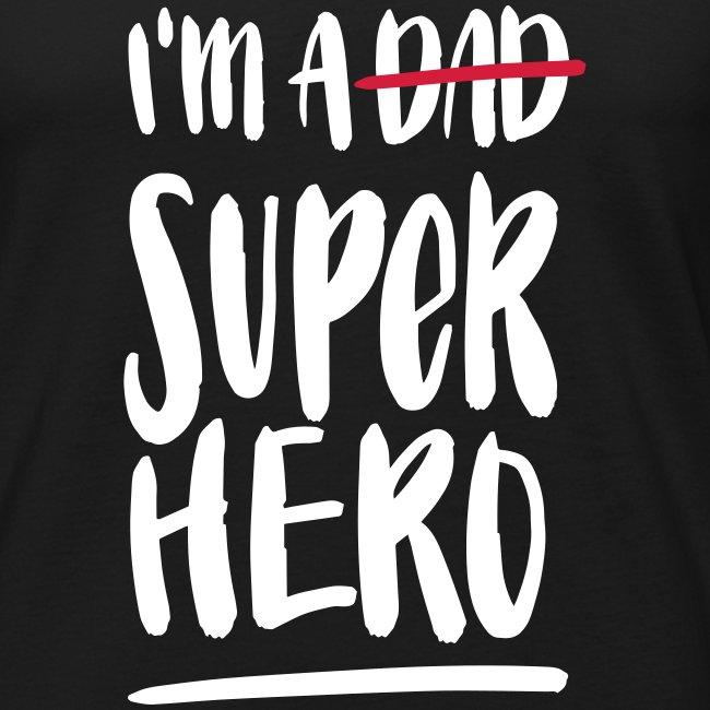 Dad-Superhero Tank Top für Männer