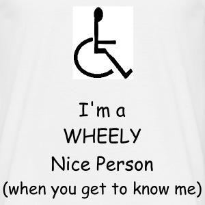 A WHEELY Nice Person - Men's T-Shirt