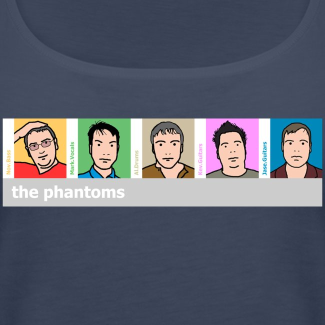 Phantoms Blurlike Lady Vest Top