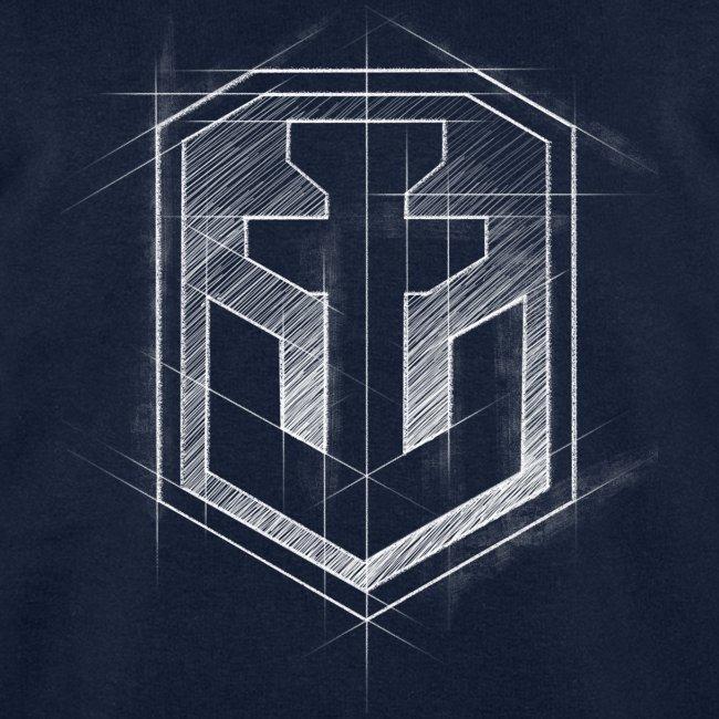 World of Warship Logo Men Sweatshirt