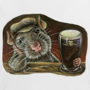 Paddy the rat - Women's Ringer T-Shirt