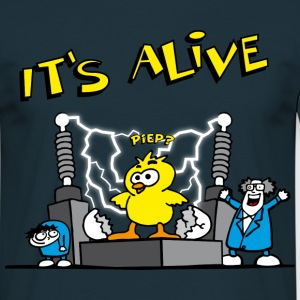 its_alive_chick_d T-shirts - Mannen T-shirt