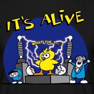 its_alive_chick_a T-shirts - T-shirt herr