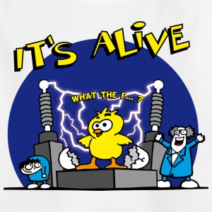 its_alive_chick_a Shirts - Teenage T-shirt
