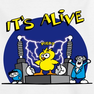 its_alive_chick_c Shirts - Teenager T-shirt