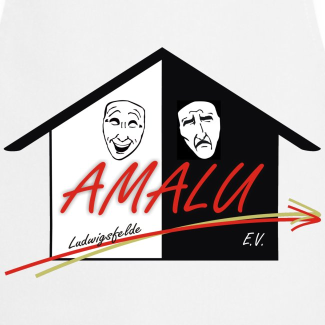 Schürze mit Amalu Logo