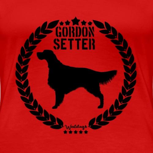 Gordon Setter Army Black