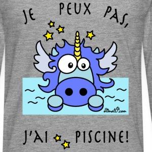Licorne Bleu - Je peux pas, j'ai piscine!