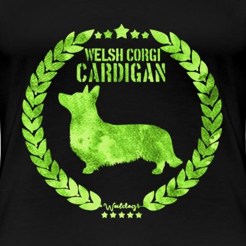 Corgi Cardi Army Green