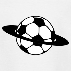 Planet fodbold T-shirts - Teenager-T-shirt