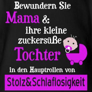 """Geburtstag T-Shirts mit """"Stolze Mama einer Baby Tochter"""""""