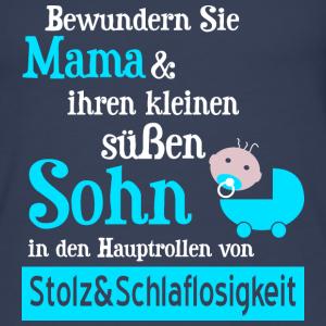 """Geburtstag T-Shirts mit """"Stolze Mama Baby Junge Geschenk"""""""