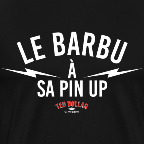 Le barbu à sa pin-up