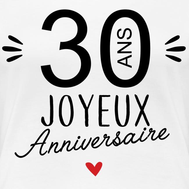 La Boutique De Laura Joyeux Anniv 30 Ans Frauen Premium T Shirt