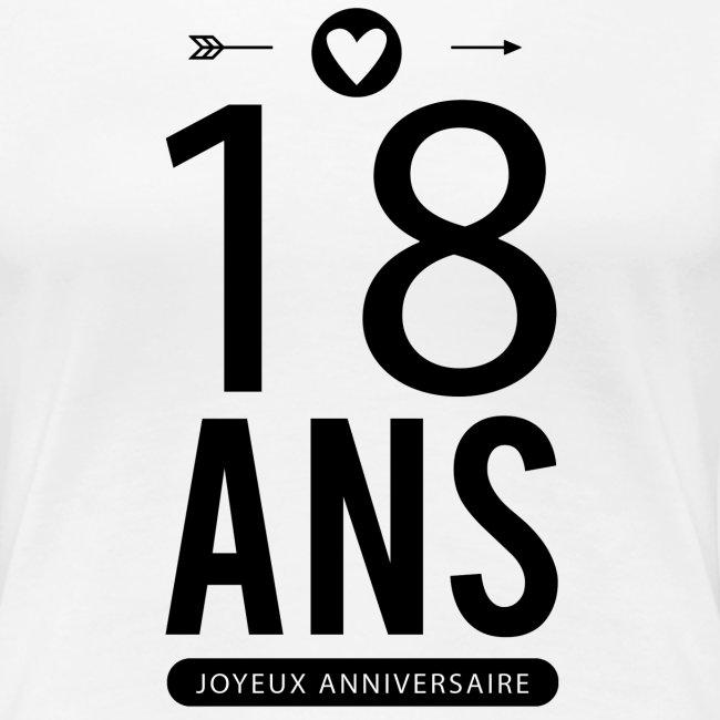 La Boutique De Laura Joyeux Anniversaire 18 Ans Women S Premium