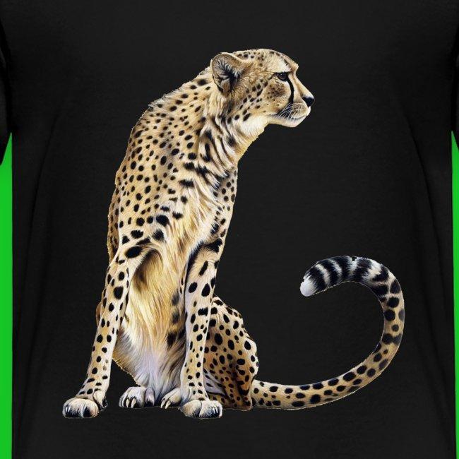 Cheetah kinder t-shirt