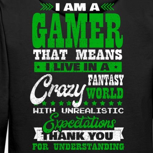 Ich bin ein Gamer Spruch