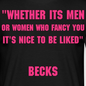 Becks Likes Being Liked - Men's T-Shirt