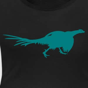 Black Fasan / pheasant(1c) Women's T-Shirts - Women's Scoop Neck T-Shirt