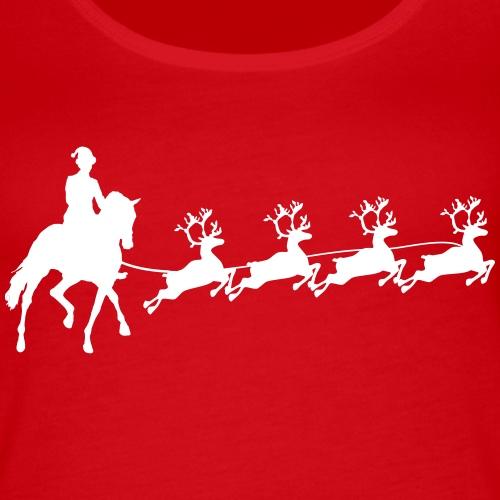 Dressurreiter Santa Claus
