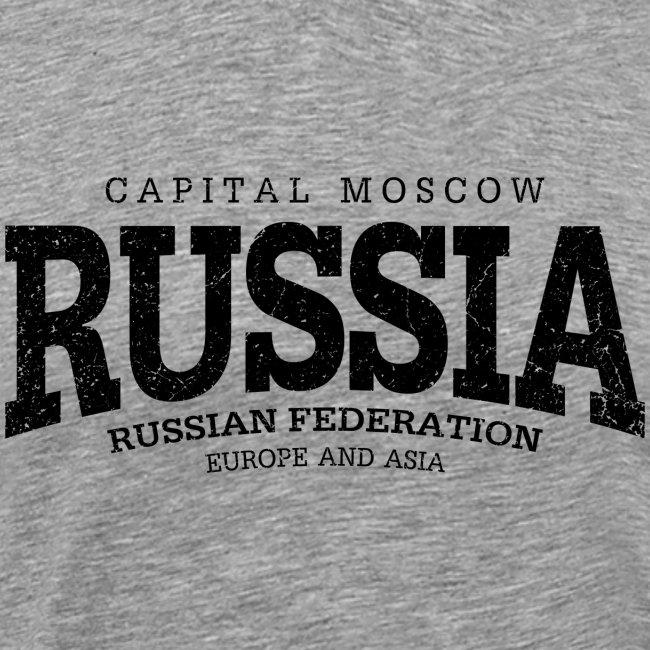 Russia (black oldstyle)