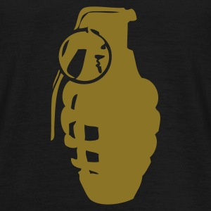 Black grenade Men's T-Shirts - Men's T-Shirt
