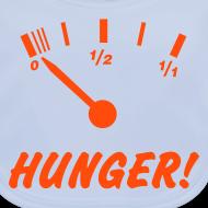 Motiv ~ Hunger (neon orange) - Baby Bio-Lätzchen