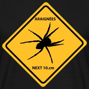 attention araignée - T-shirt Homme