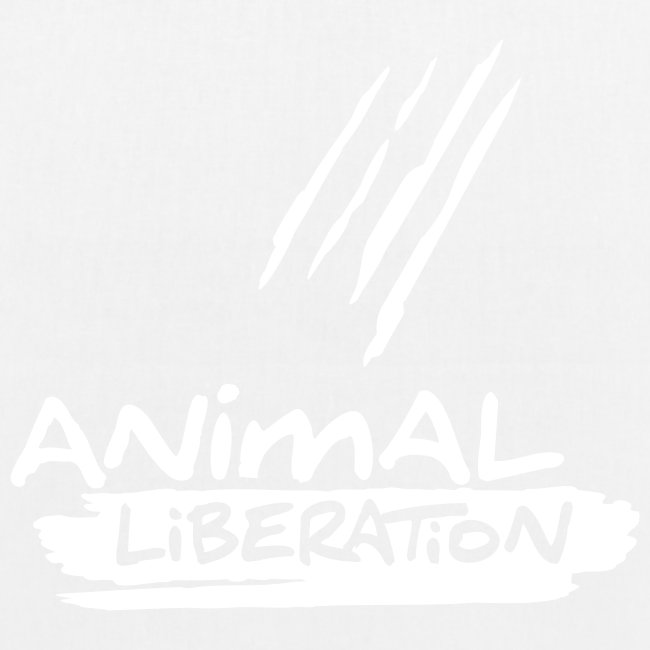 BIO-Stofftasche 'Animal Liberation'
